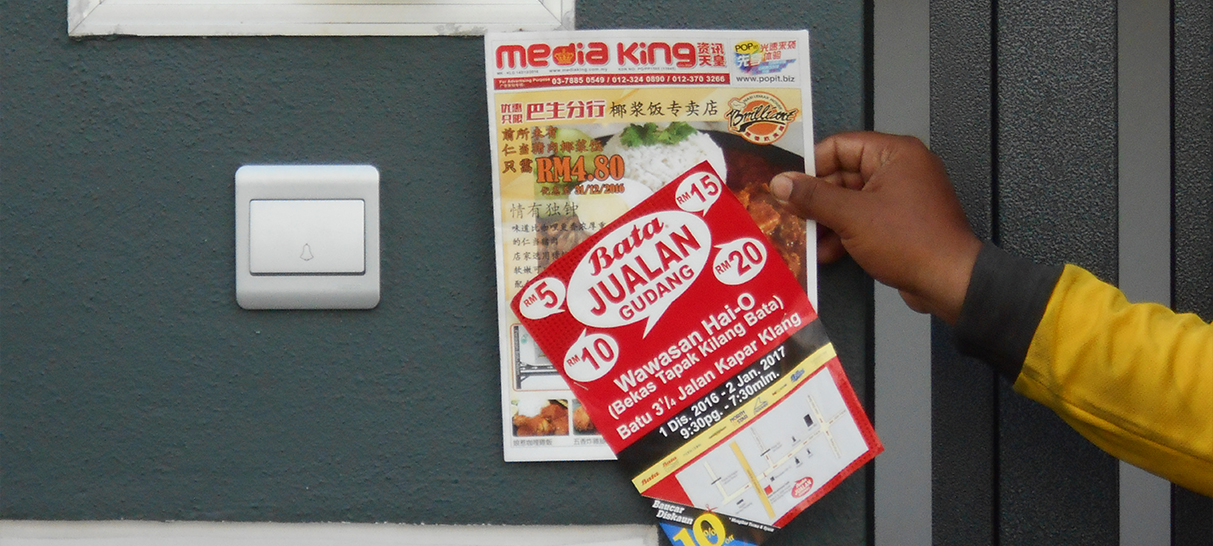 flyer distribution service malaysia
